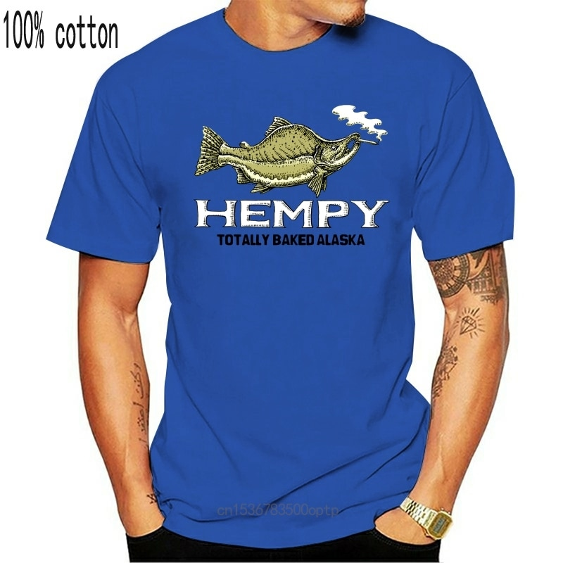 New Hempy Totally Baked Alaska R Trout 2014 Mens Size 2Xl Graphic T Shirt