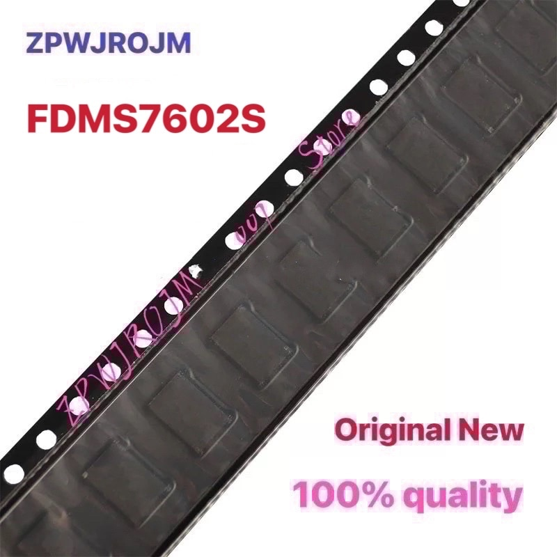 10 pcs/lot FDMS7602S FDMS7602 7602S MOSFET QFN-8