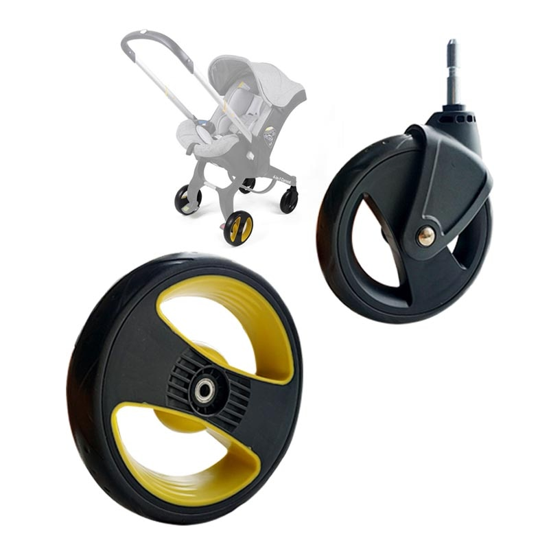 Колеса для коляски Doona Foofoo, совместимые с передними и задними колесами, детские тележки, колеса, тележки, аксессуары с подшипником или осью