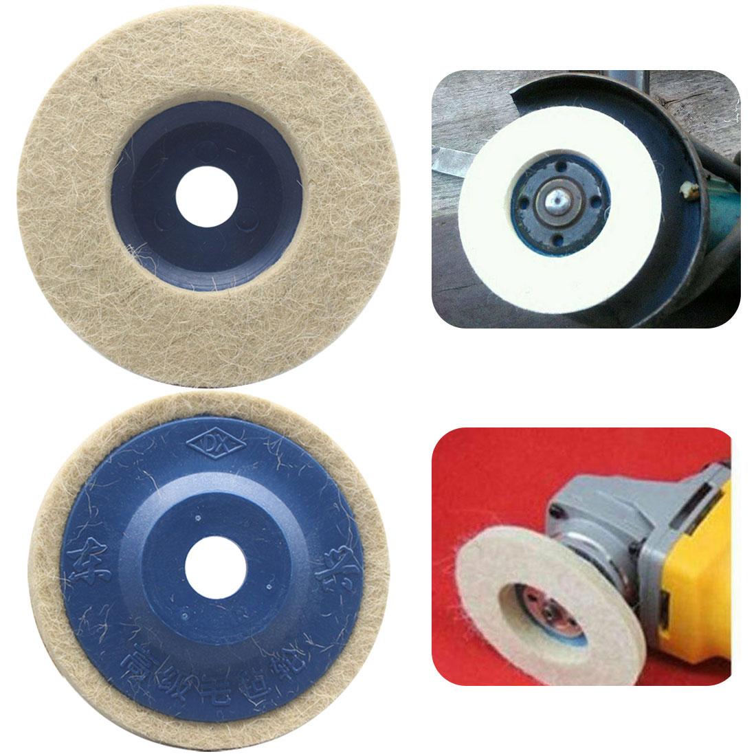 Фото - Войлочный полировальный диск 3000 rmp 100 мм шерстяной Полировочный диск полировочные колодки угловая шлифовальная машина Полировочный диск диск полировальный войлочный 150 7мм matrix 75930