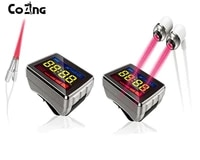top ten selling product treat hypertension cholesterol diabetic laser needle acupuncture laser watch redblue laser therapy