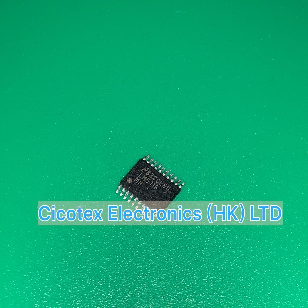 3 pçs/lote LM5116MHX TSSOP20 LM 5116MHX IC REG CTRLR FANFARRÃO 20TSSOP LM5116MH LM5116 MH LM5116MHX/NOPB LM5116MH/NOPB