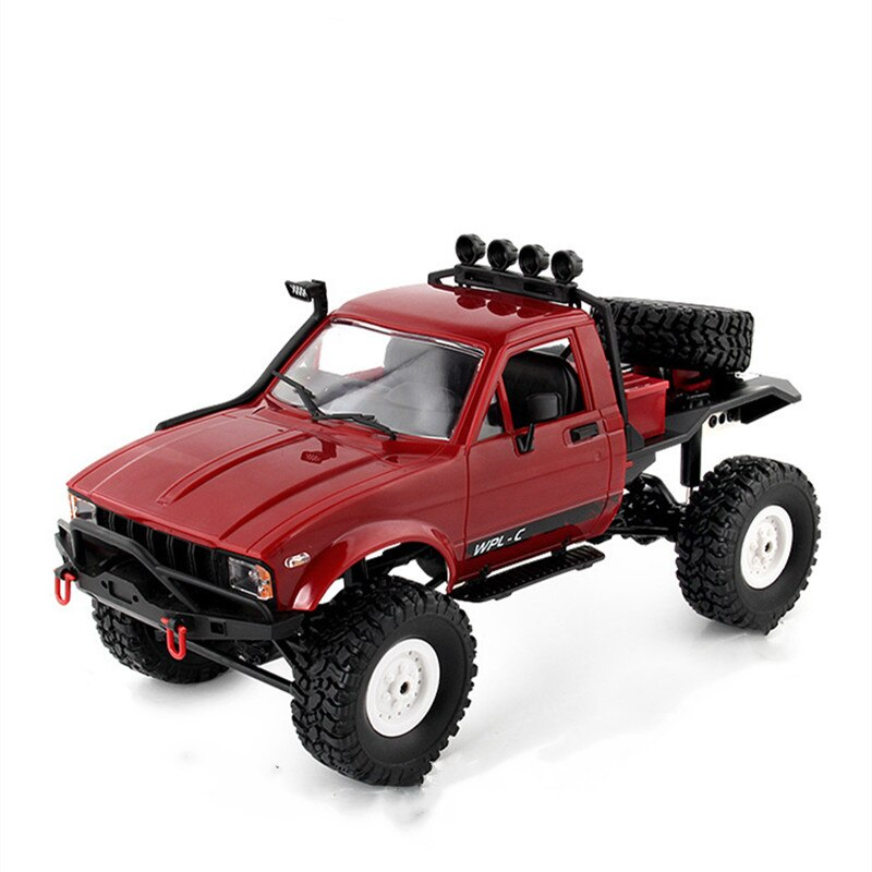 1:16 WPL C14 RC Truck 2CH 4WD Scale 2.4G Radio Control Car Off-Road Climbing 15km/H Racing Car Kids Gifts Toy Model Toys enlarge