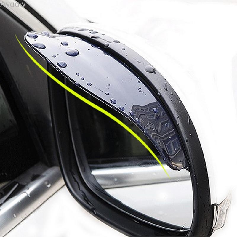 1 paar Auto Zurück Spiegel Augenbraue Regen Abdeckung Für Kia Rio K2 K3 5 Sportage Ceed Sorento Cerato Seele Buick hyundai Tucson I30