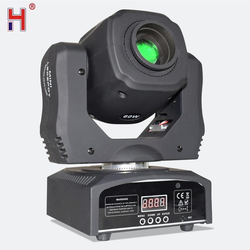 مصباح LED صغير برأس متحرك 60 واط قوي Lyre DJ Spot Pro Inno جيب مرحلة الإضاءة للديسكو KTV حفلة رقص ملهى ليلي