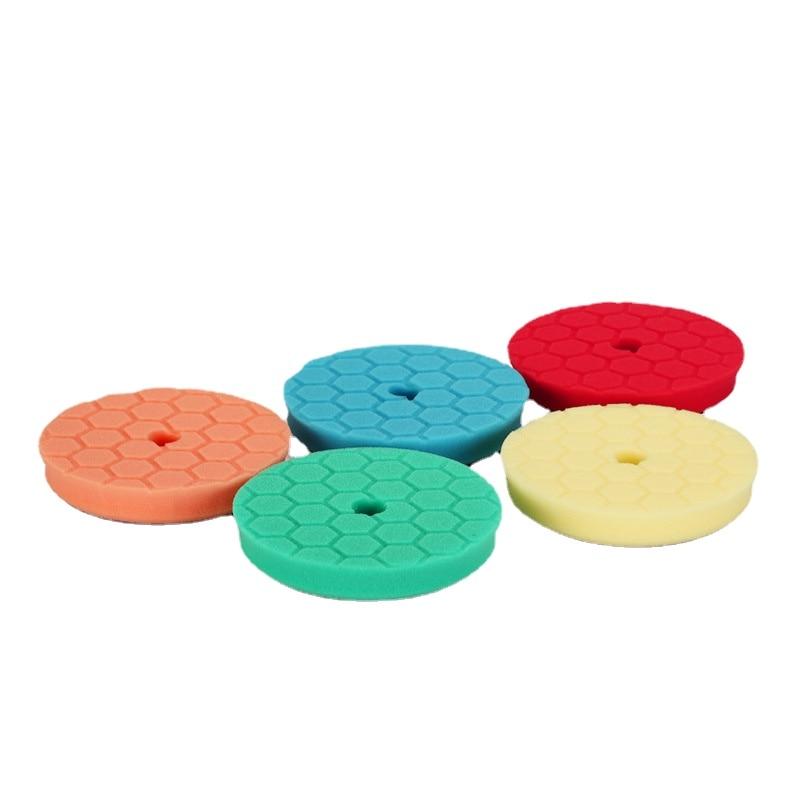 Набор губки для полировки автомобиля, комплект из губки 3/5/6 дюймов М10, для полировки и Полировки Автомобиля