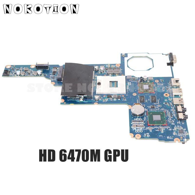 NOKOTION-اللوحة الرئيسية, لوحة رئيسية موديل 694693-001 685108-001 لأجهزة لابتوب HP 1000 Compaq CQ45 لوحة أم DDR3 HD6470M بطاقة فيديو
