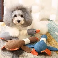 dog toy teddy golden hair voice molars puppy small dog toy scream chicken small dog pet toy