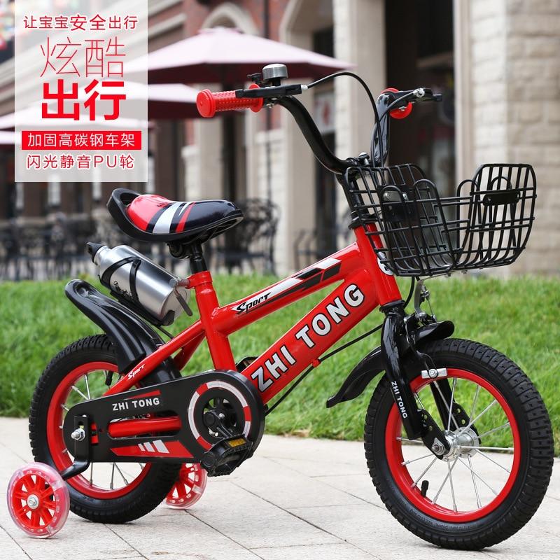 Игрушечный детский велосипед Doki для малышей 2-4-6 лет велосипед для мальчиков и девочек коляска 12/14/16/18 дюймов детские велосипеды Новинка 2021 с...
