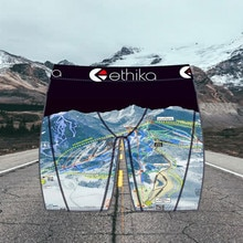 Ethika Beach Sports Style Mens Shorts Fashion Brand Hot Sale Personality Printing Breathable  Ethika