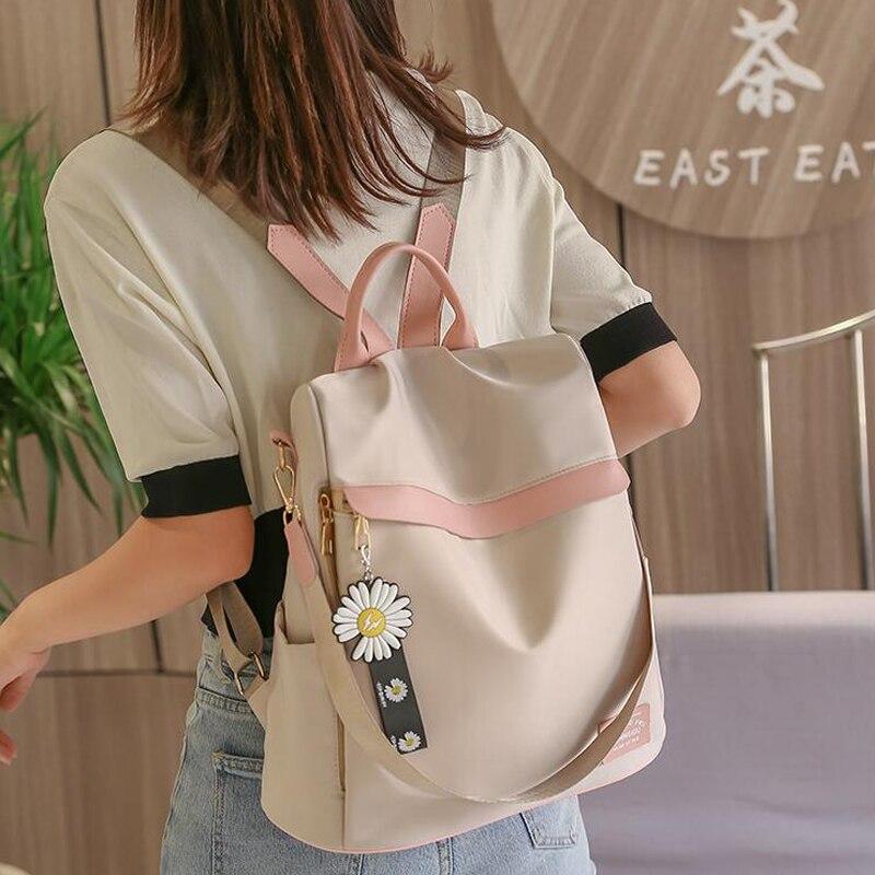 feminine backpack striped women canvas backpack teenage backpacks for teen girls teenagers bagpack youth female mochila feminina Fashion Women Backpacks Large Capacity Female Backpack School Bag For Teenage Girls Travel Bagpack mochila feminina