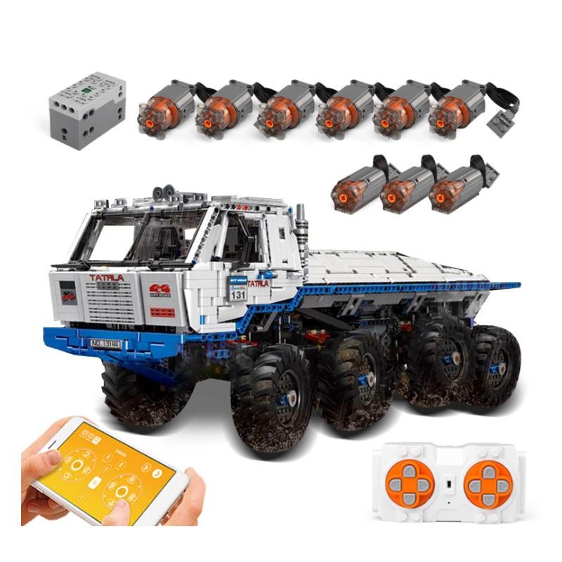 MOC-27092 tatra T813 8x8 PROFA engineering car tractor toy dump truck model classic toy car children toys engineering vehicle
