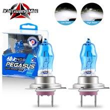 Ampoules au xénon halogène 100W H1 H3 H4 H7 H8 H11 9005 blanc 9006 K 12V   2 pièces, remplacement de phare de voiture, phare antibrouillard