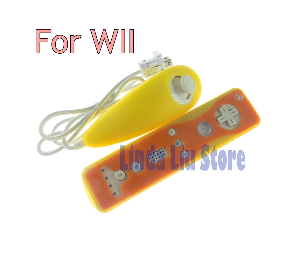 Nunchuck sem fio controlador remoto caso de silicone para nintendo wii capa protetora de silicone