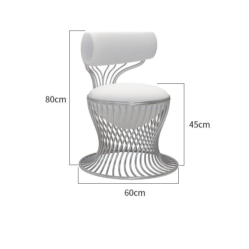 Стул на заказ, коммерческая мебель, креативные кофейные стулья в скандинавском стиле для отеля, розовые мягкие обеденные стулья с мягкой сп...