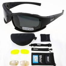 X7 Polarized Photochromic Tactical Glasses Military Goggles Army Sunglasses Men Shooting Eyewear Hik