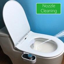 New Arrival Feminine Bidet Dual Nozzle WC Toilet Hygienic Bidet Toilet Seat Attachment Bidet for Women and Man