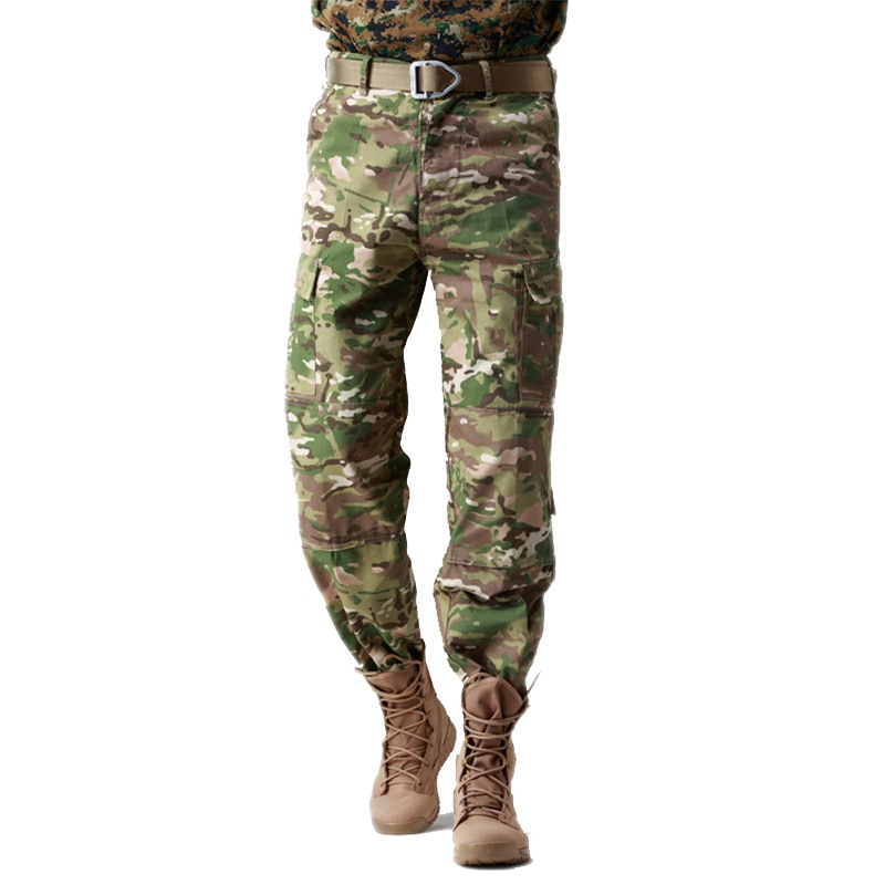 Camping Hiking Military Men Pants Military Autumn and winter Men's pants Uniform Army Outdoor Camouflage Trousers Clothes CP
