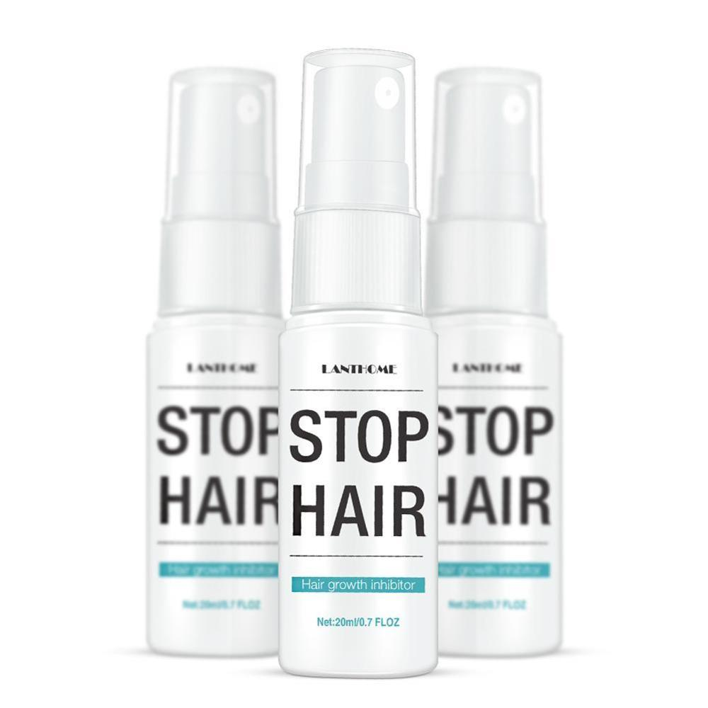 20ml Hair Growth Inhibitor Hair removal Spray Prevents Reduce Hair Growth Whole Body Leg Body Armpit Hands Depilation