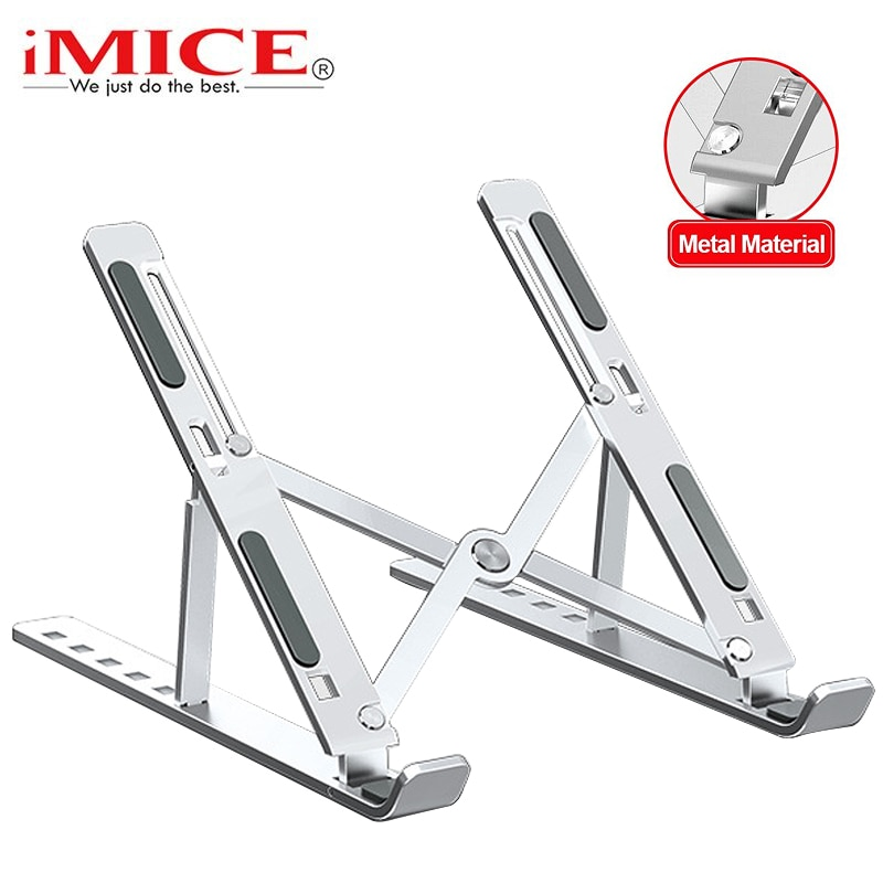 Foldable Laptop Stand Aluminium Notebook Stand Portable Laptop Holder Tablet Stand Computer Support For MacBook Air Pro ipad