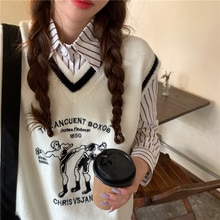 Cost-Effective Autumn Fashion Embroidered V-neck Horse