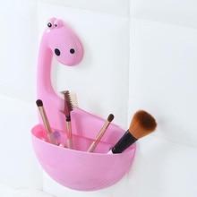 Creative Dinosaur Sucker Toothpaste Rack Toothbrush Holder Cute Practical Drain Rack Bathroom Storage Products