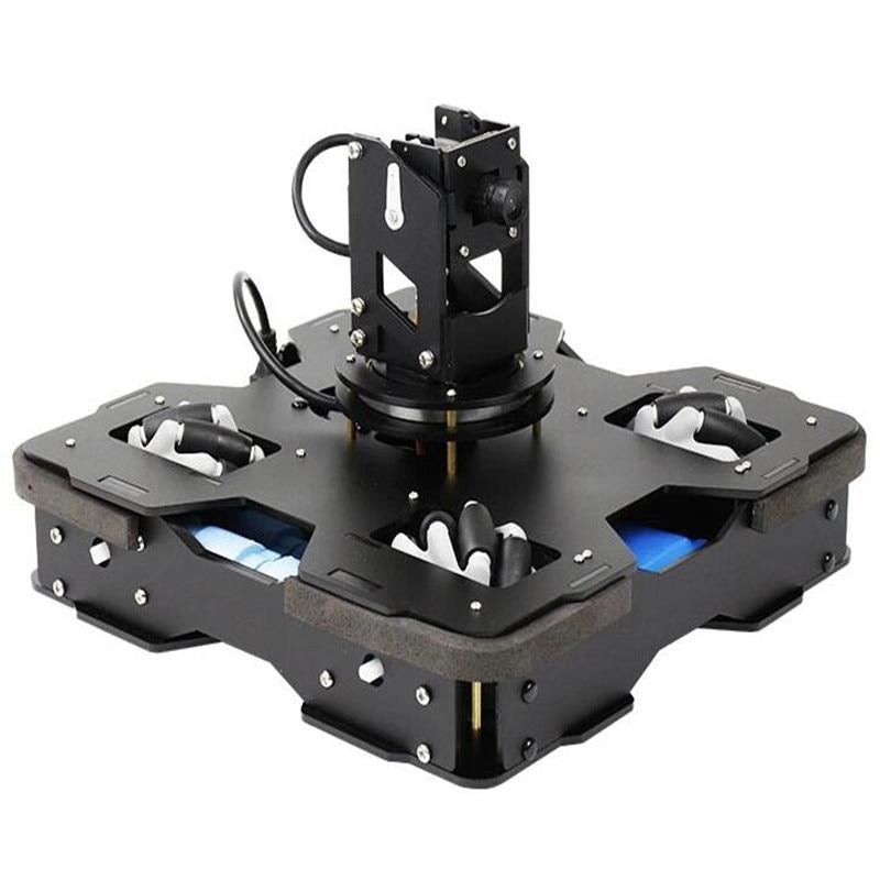 Yahboom Raspblock AI inteligentny samochód AI programowanie Robot edukacyjny dla Raspberry Pi 4B sztuczna inteligencja projekty autopilota