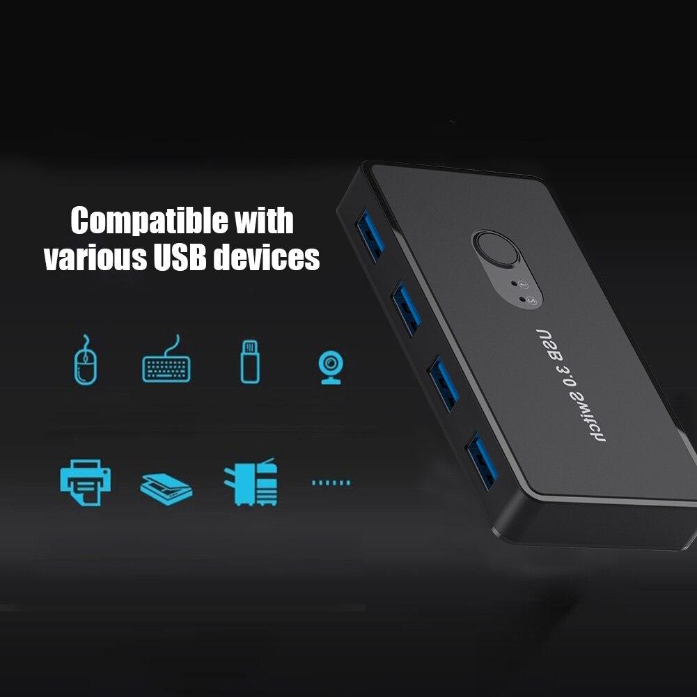 2 шт., USB-переключатель для мыши и клавиатуры
