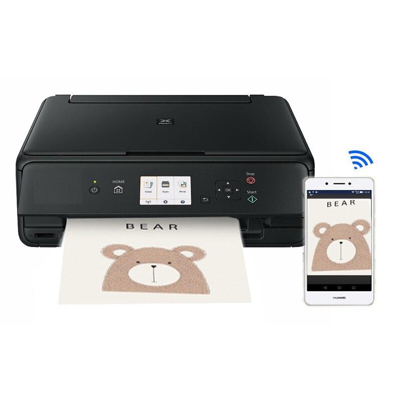 Lxhcoody para canon ts5060 máquina de impressora de bolo para bolo de chocolate lollipop com cartucho de tinta comestível bolo papel a4 impressora de alimentos