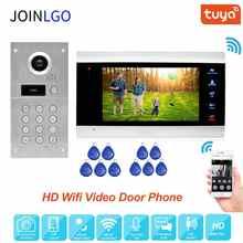 Смарт-видеодомофон 960P, Wi-Fi, IP, датчик движения
