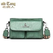 New Casual Wide Shoulder Strap Shoulder Bags for Women 2021 Fashion Women's Crossbody Bag Ladies Des