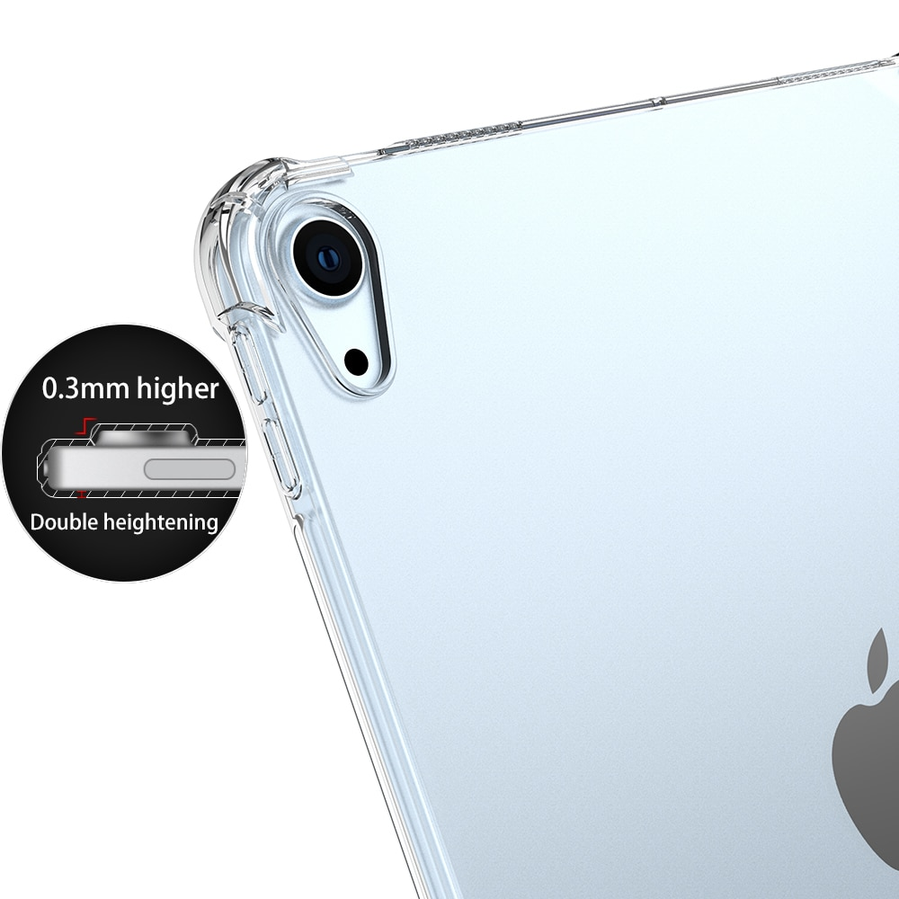 Silicone-Case iPad Back-Cover Shockproof Transparent Bumper Apple 8th-Generation