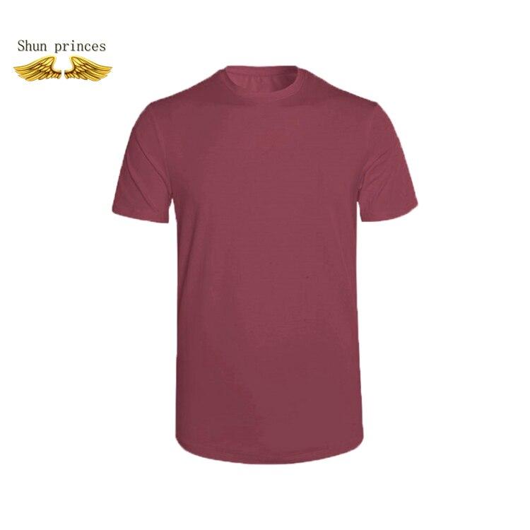 De moda de man2020 la nueva moda hombres camiseta Hipster camiseta hombres color puro Asia S-XXXL el estilo europeo y americano