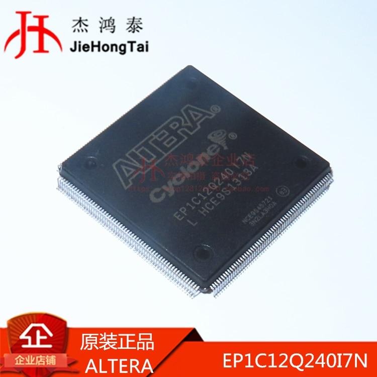 شحن مجاني EP1C12Q240I7N QFP-240 FPGA- 10 قطعة