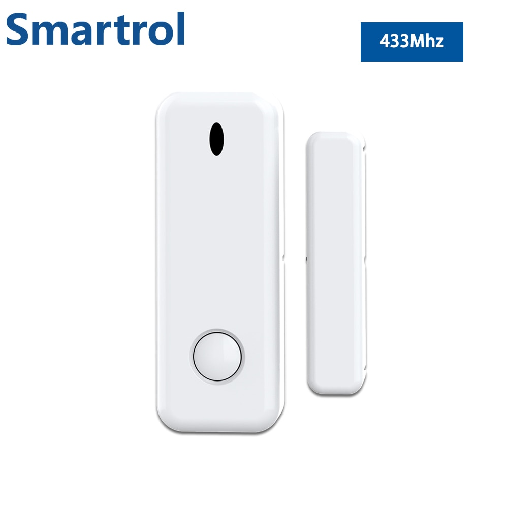 Smartrol 433 МГц оконная сигнализация Сенсор хозяин охранной сигнализации аксессуары для Android Ios домашней сигнализации Системы Наборы приложени...