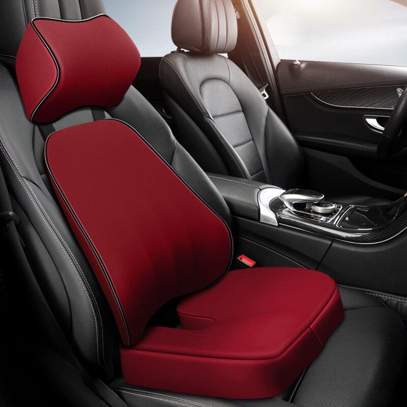 Автомобильная подушка на шею, подголовник, автомобильные аксессуары, подушка, поддержка головы автомобильного сиденья, протектор шеи, авто...