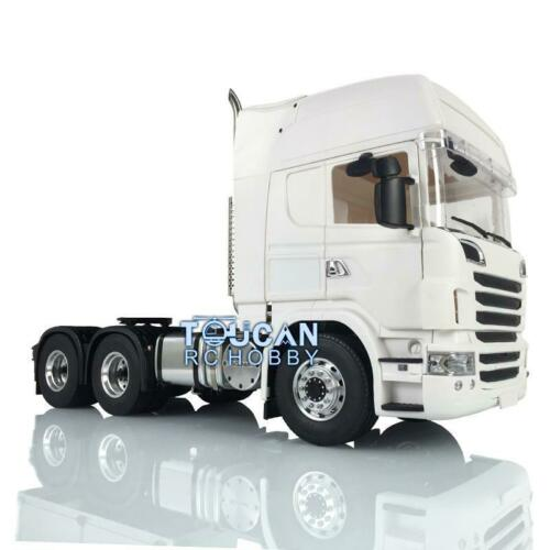 1/14 RC LESU металла 6*6 шасси трактора Trcuk Servo Hercul R730 SCA кабины THZH0660-SMT4
