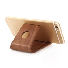 Universal Stand Phone Holder Bamboo Wood Stand Holder IPad Wooden Stand FiPhone Watch SE 6 6S More S