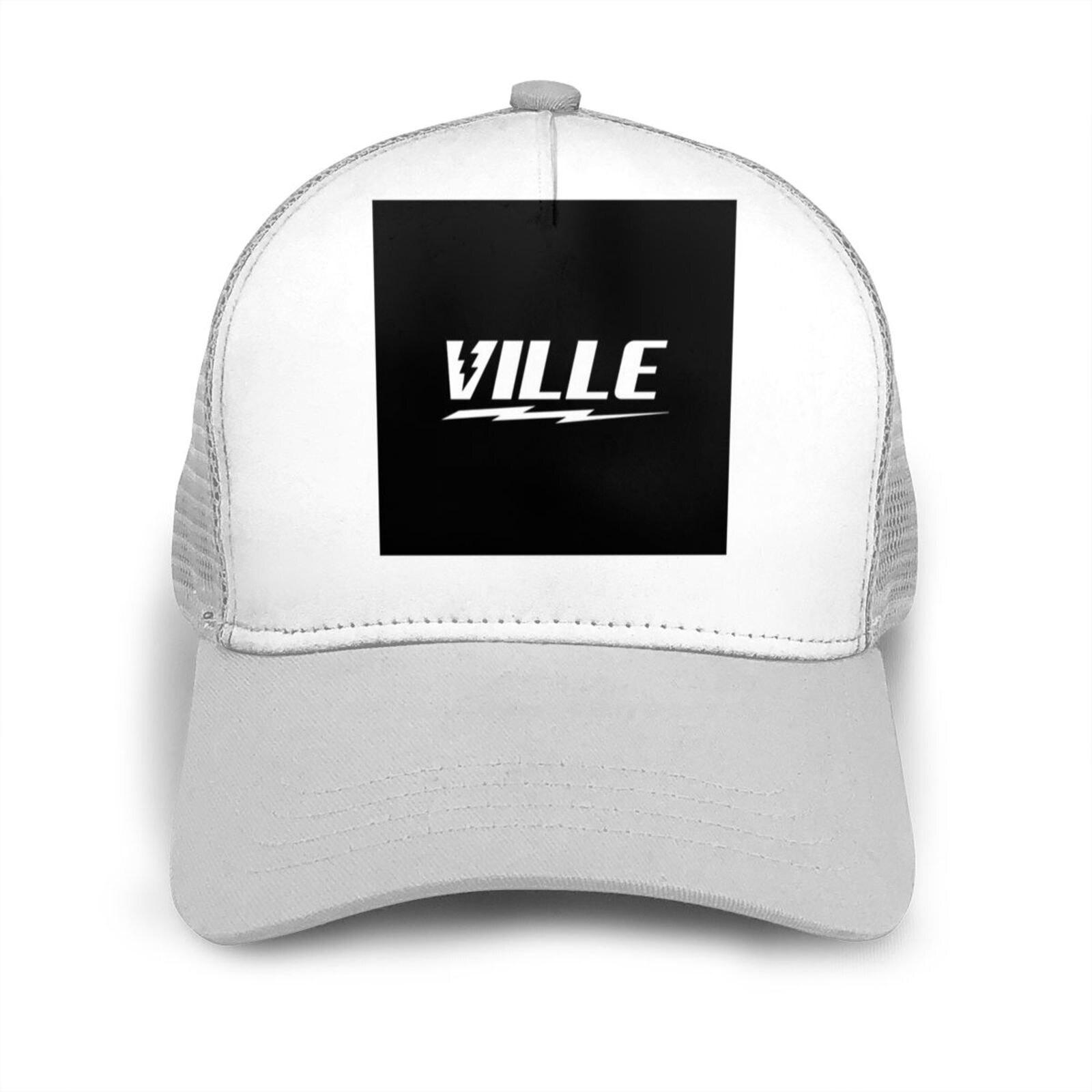 La Ville de tapa plana curva sombreo gorra de malla Ville 999...