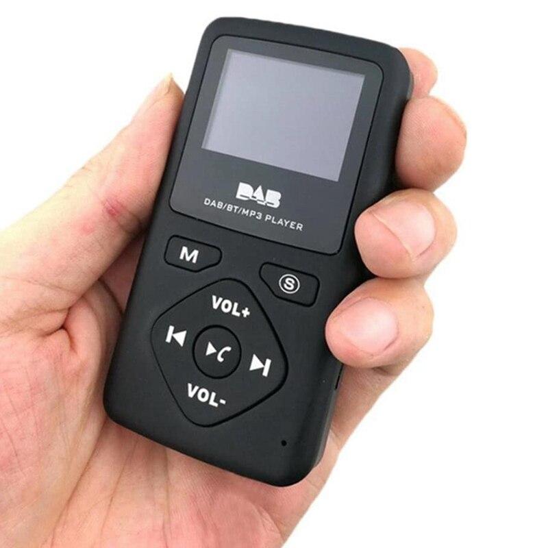 Radio Receiver Dab Radio DAB/DAB Digital Radio Bluetooth 4.0 Personal Pocket FM Mini Portable Radio MP3 Micro-USB for Home enlarge