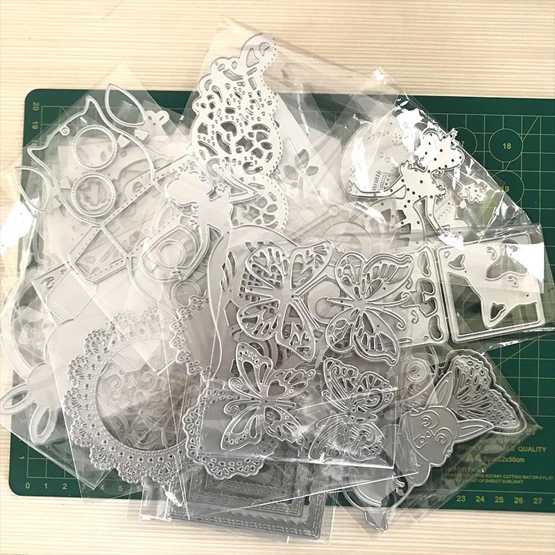 Cutting  Dies Randomly Frame New Metal Cutting Die For DIY Scrapbooking Paper Cards Die Cuts