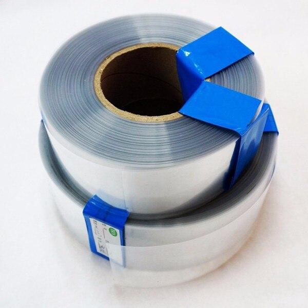 XNEMON 1m carcasa transparente de batería Lipo PVC Tubo Termocontraíble modelo accesorios caja de batería 30/50/60/70/85/90/95/110mm