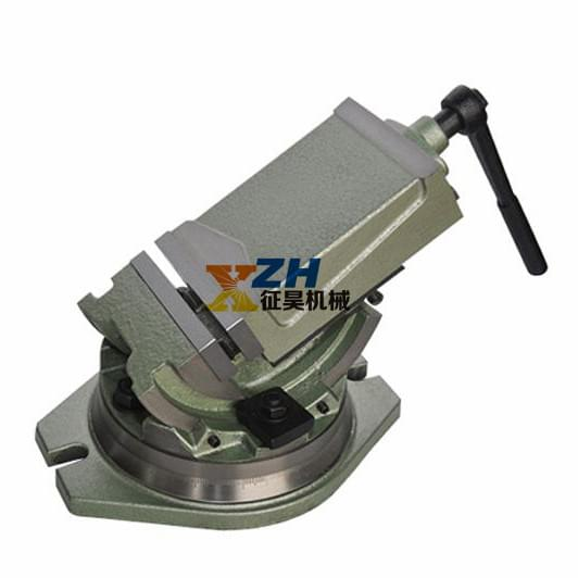 Lathe Acecessoreis QHK Q41100 Tilting Declinable Machine Vice enlarge