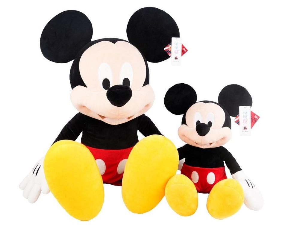 Disney оригинальная плюшевая кукла Микки Минни мультфильм Микки Маус мальчик