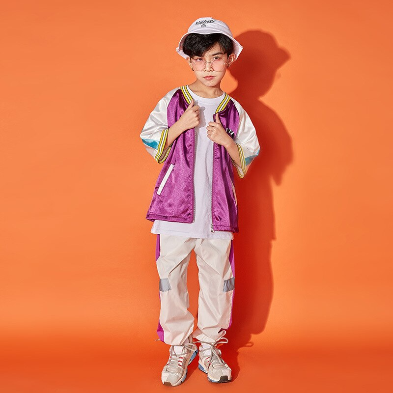 2021 Prendas de hip-hop para niños chaqueta para correr de ropa... camisas...