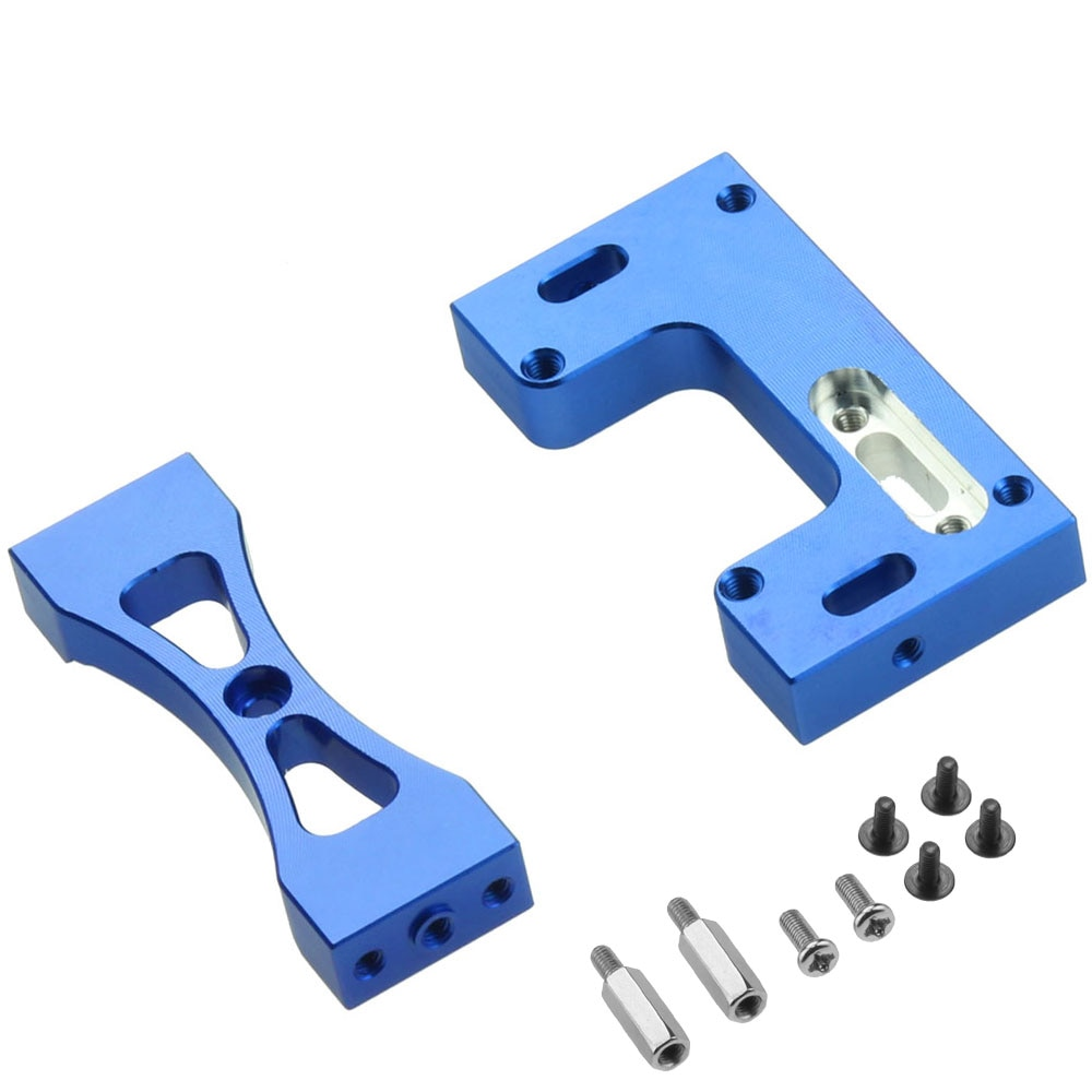 Metal Steering Servo Fixed Mount Bracket for WPL 1/16 MN D90 99s RC Car Upgrade Parts Accessories