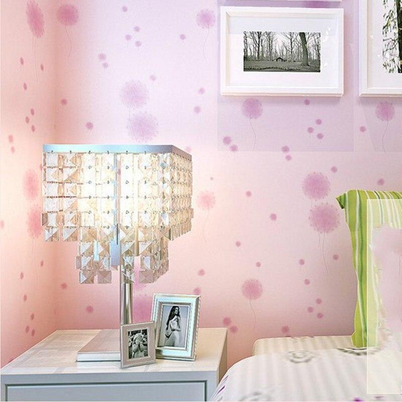 Papel pintado coreano WELLYU papel de pared de fondo de TV decoración diente de león papel de pared 3d papel de pared