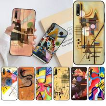 Wassily Kandinsky Abstract Artistic Phone Case For Huawei Nova 6se 7 7pro 7se honor 7A 8A 7C Prime20