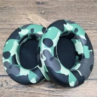 retro camouflage replacement earpads cushion for studio2 0 high quality soft leather earpads cover for studio3 0 for mcm