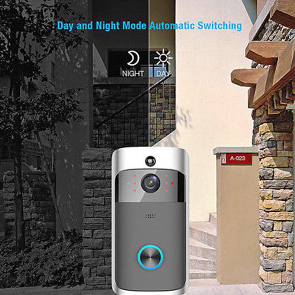 M7 Smart Video Türklingel 2,4G Wifi 720p HD Tür Glocke Echtzeit 2Way Sprechen Stimme Intercom Smart PIR bewegungserkennung Ring Türklingel